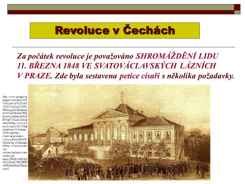 Revoluce v Čechách Za počátek revoluce je považováno SHROMÁŽDĚNÍ LIDU