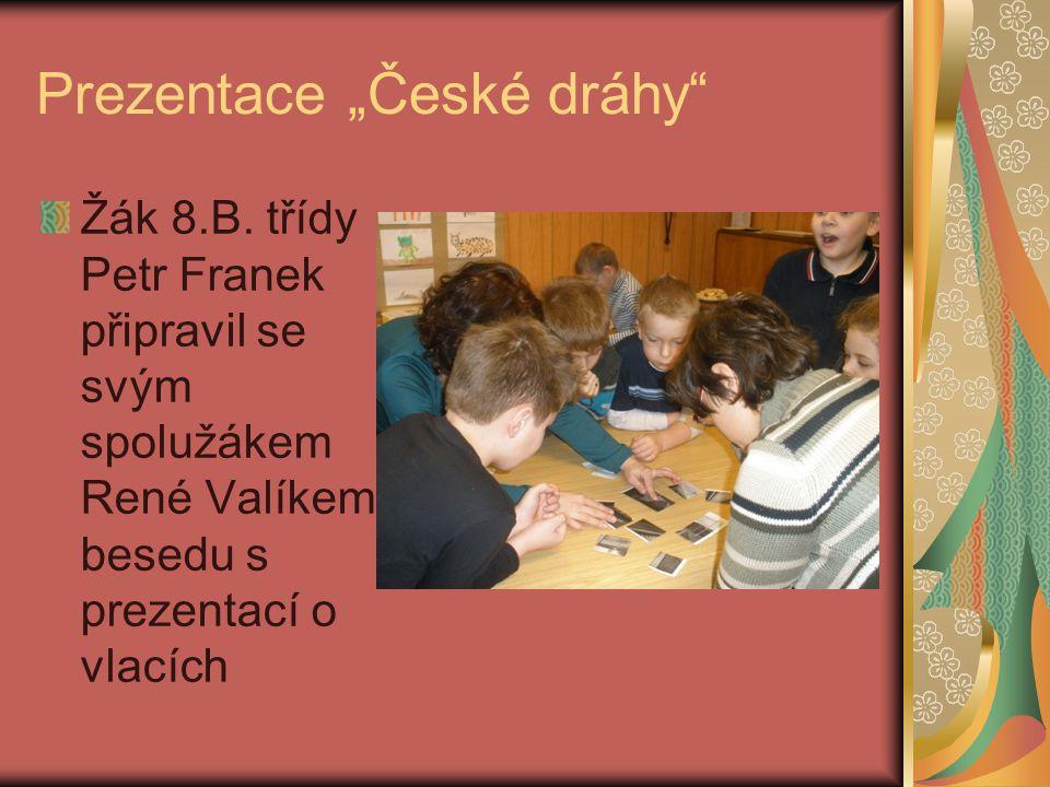 """Prezentace """"České dráhy"""
