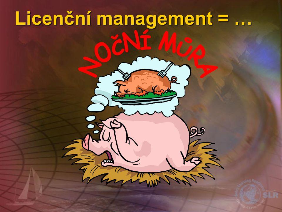 Licenční management = …