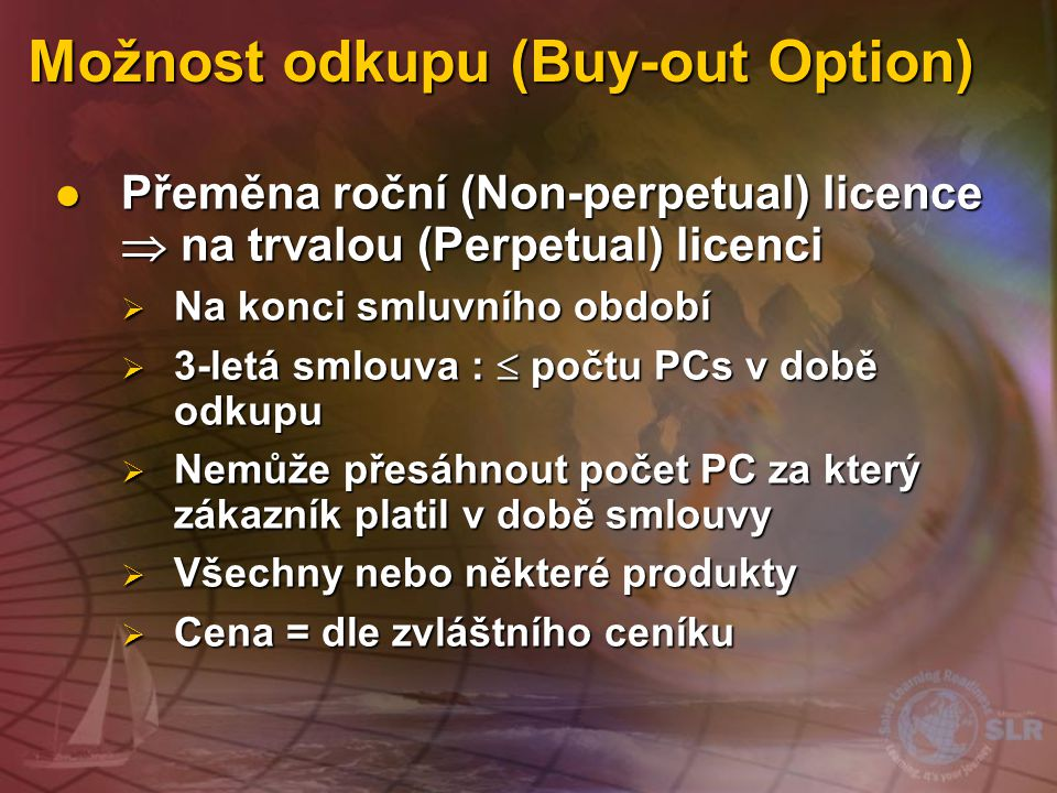 Možnost odkupu (Buy-out Option)