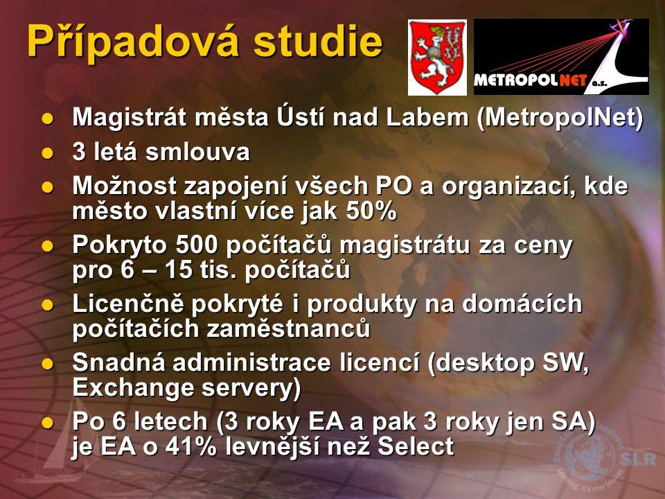 Případová studie Magistrát města Ústí nad Labem (MetropolNet)