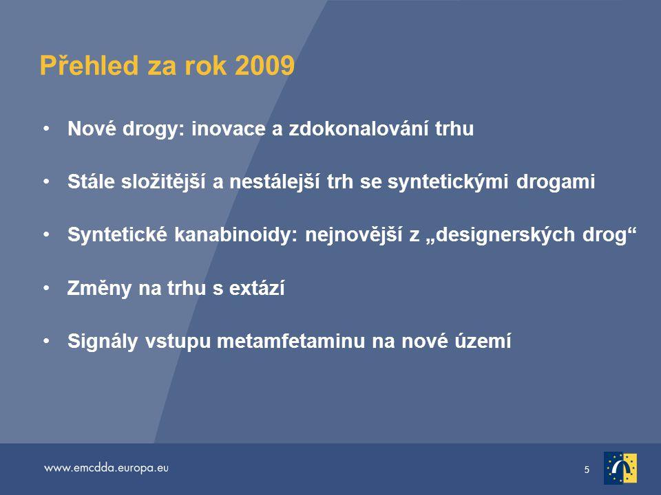 Přehled za rok 2009 Nové drogy: inovace a zdokonalování trhu