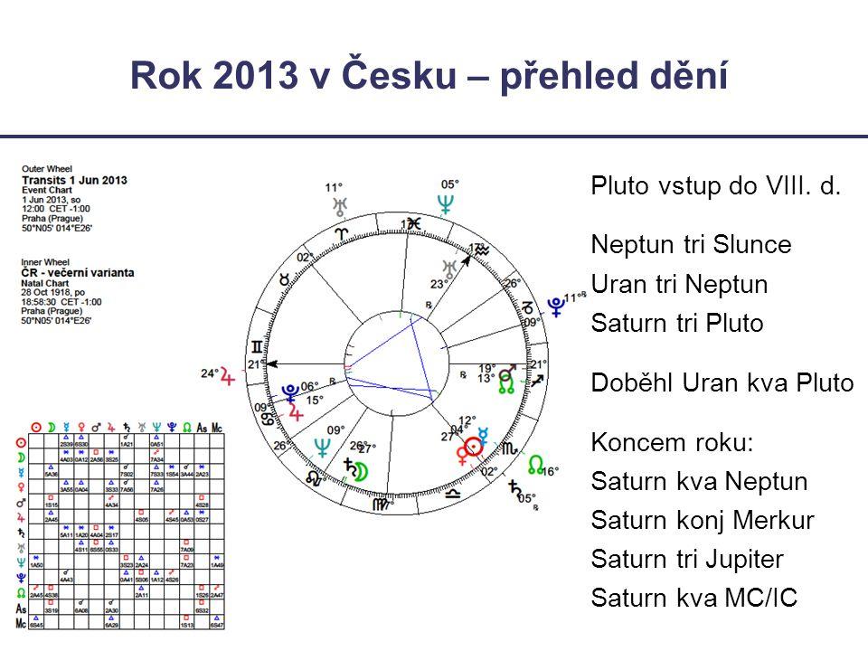 Rok 2013 v Česku – přehled dění