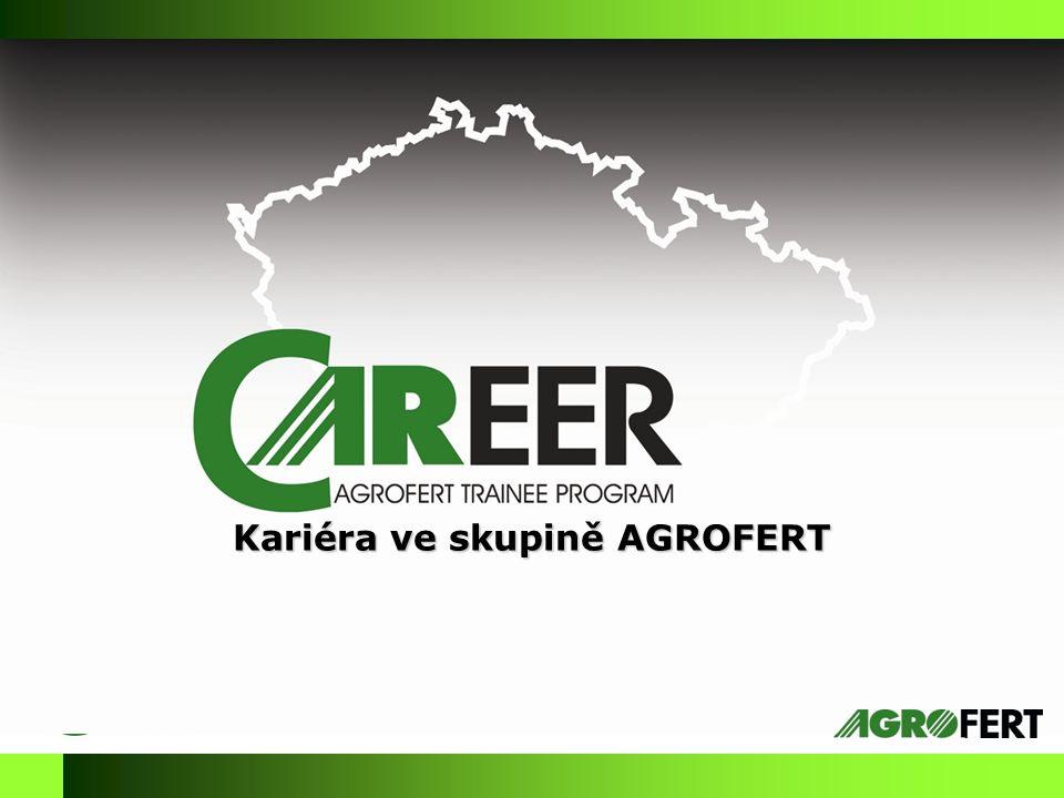 Kariéra ve skupině AGROFERT