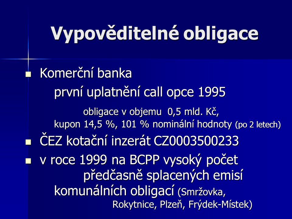 Vypověditelné obligace