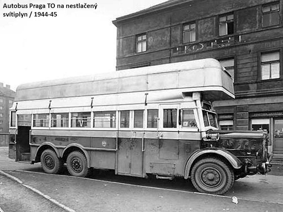 Autobus Praga TO na nestlačený