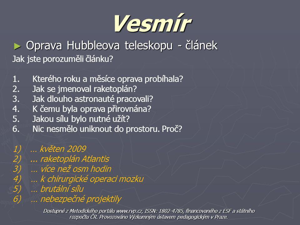 rozpočtu ČR. Provozováno Výzkumným ústavem pedagogickým v Praze.