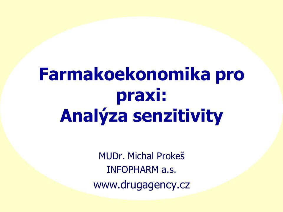 Farmakoekonomika pro praxi: Analýza senzitivity