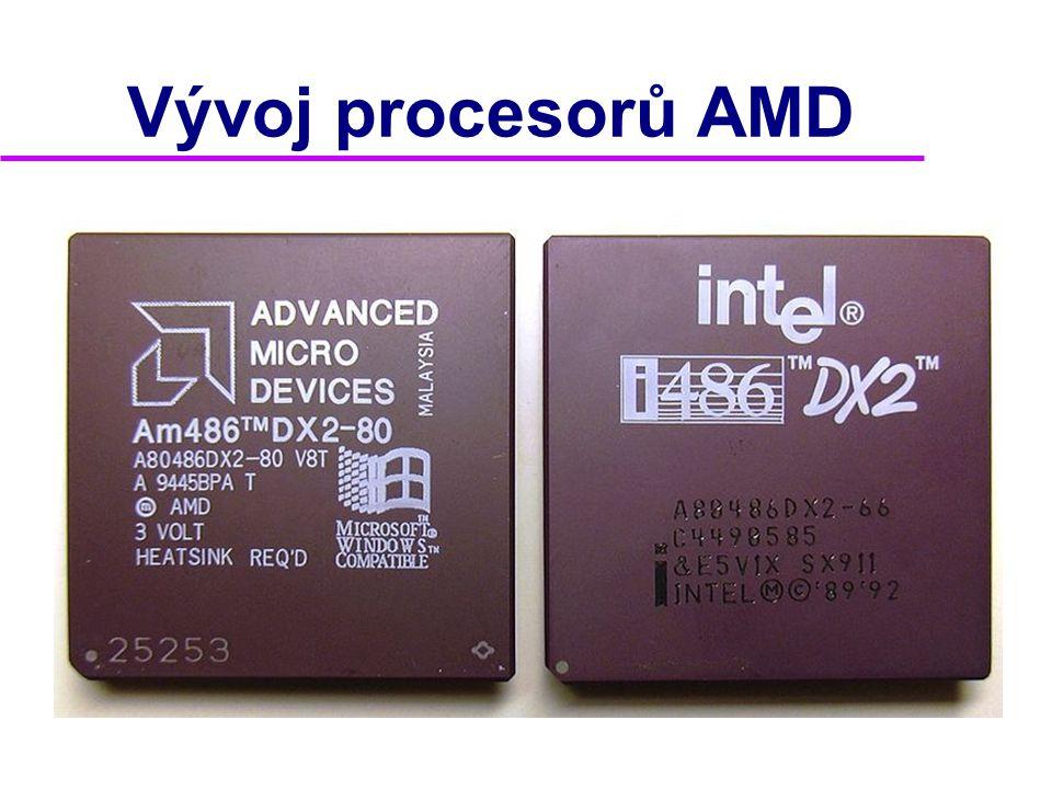 Vývoj procesorů AMD 2