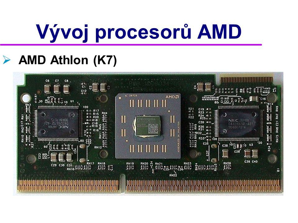 Vývoj procesorů AMD AMD Athlon (K7) 2