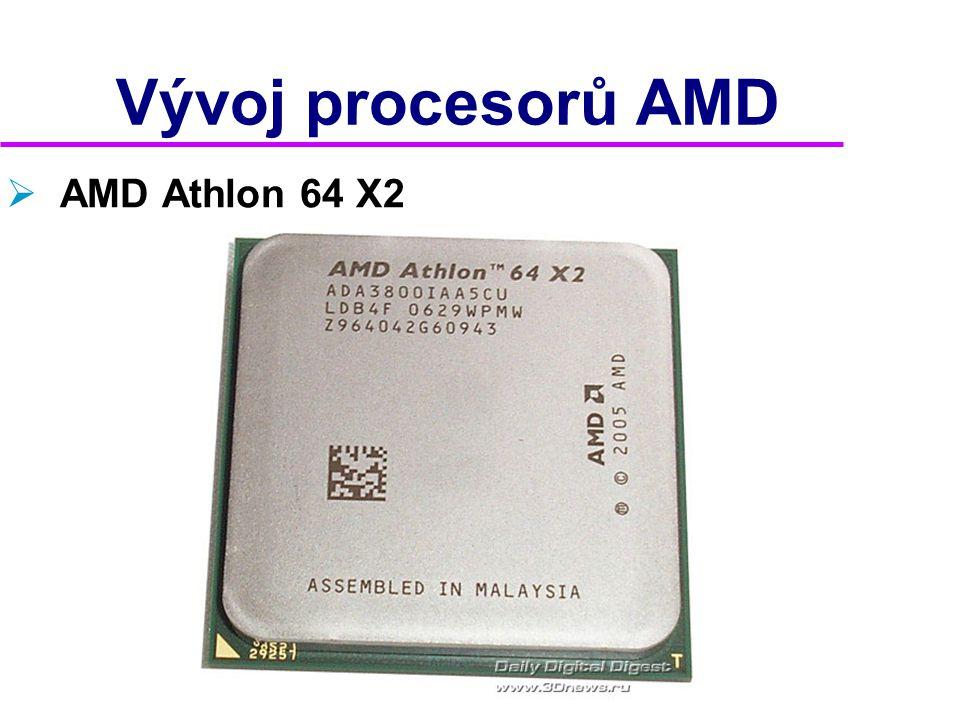 Vývoj procesorů AMD AMD Athlon 64 X2 2