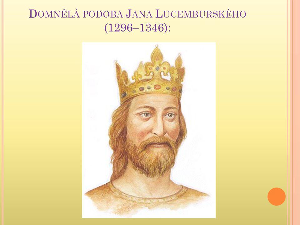Domnělá podoba Jana Lucemburského (1296–1346):