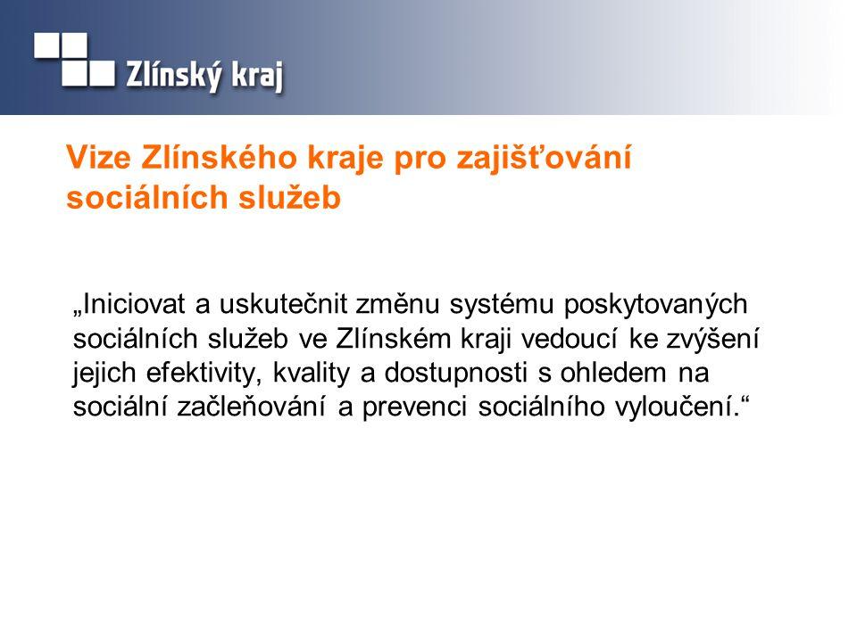 Vize Zlínského kraje pro zajišťování sociálních služeb