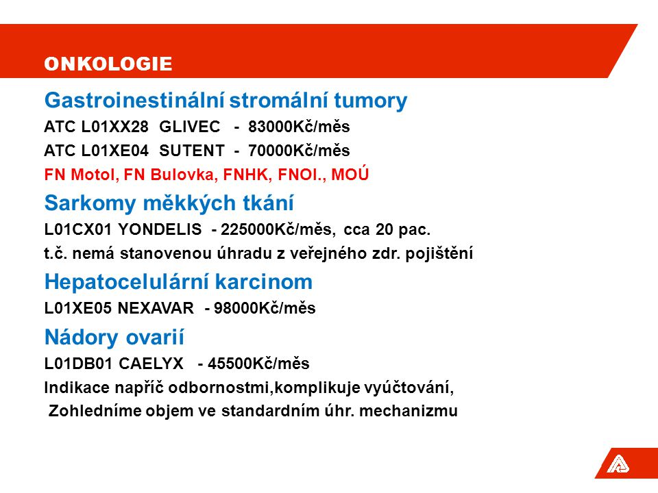 Gastroinestinální stromální tumory