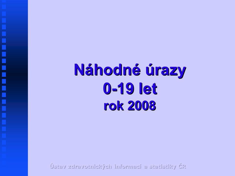 Náhodné úrazy 0-19 let rok 2008