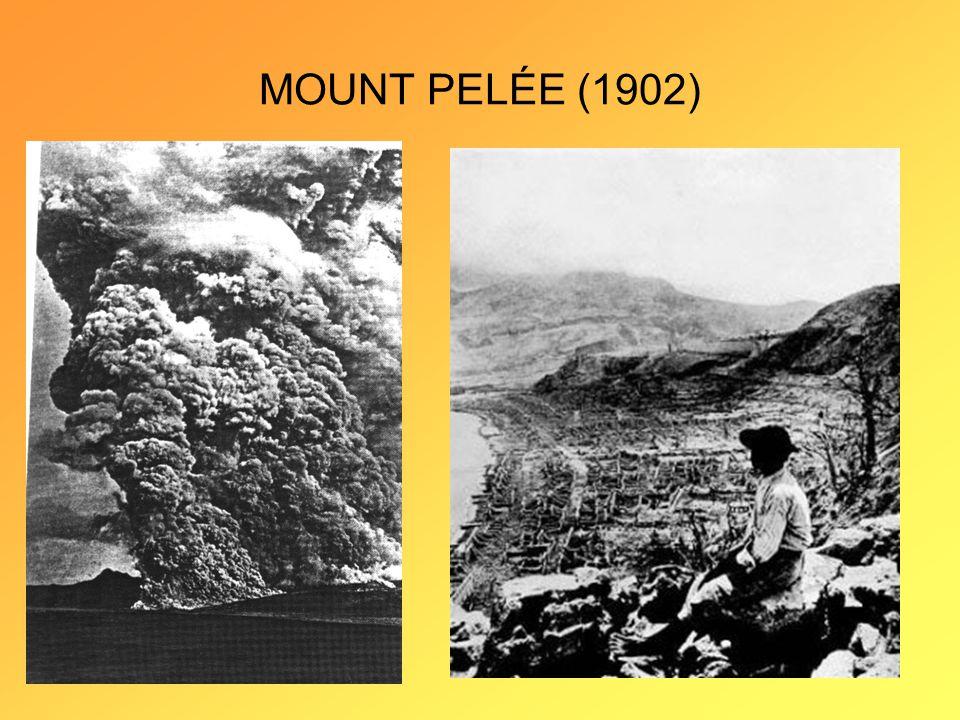 MOUNT PELÉE (1902)