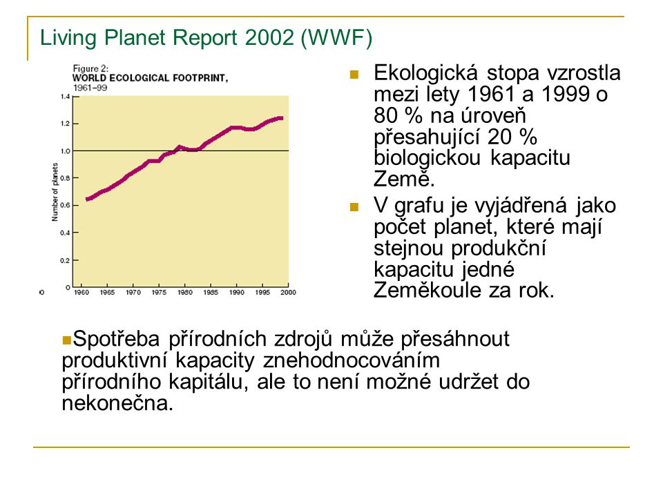 Living Planet Report 2002 (WWF)