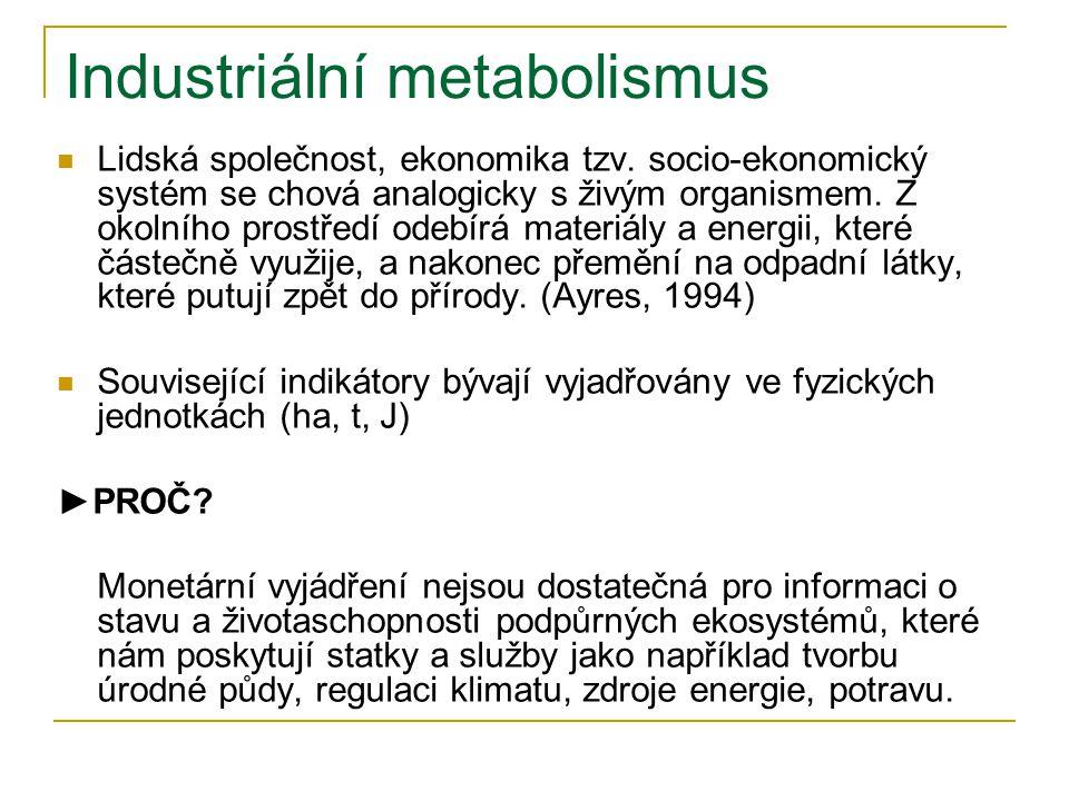 Industriální metabolismus