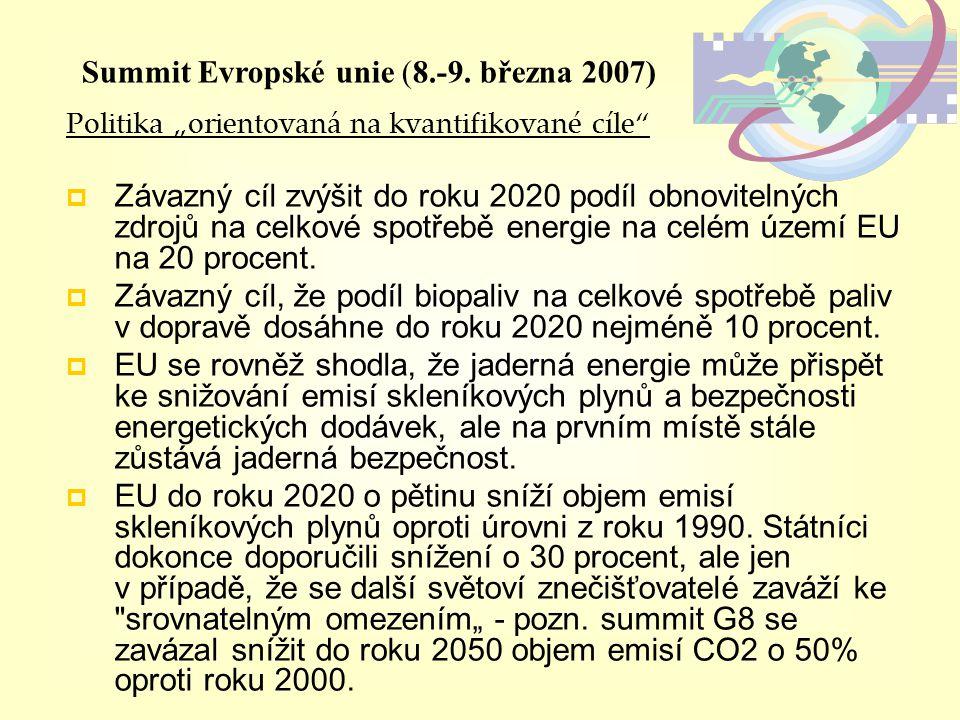 Summit Evropské unie (8.-9. března 2007)