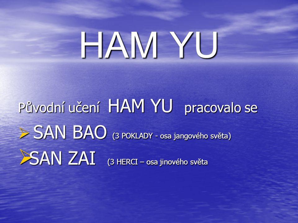 HAM YU SAN ZAI (3 HERCI – osa jinového světa