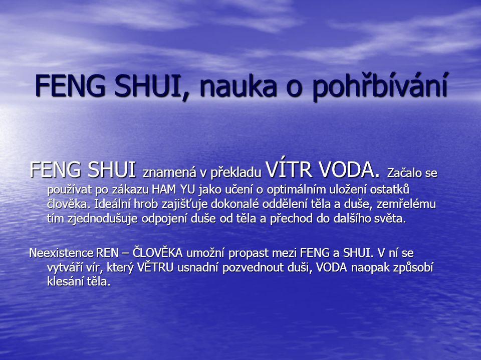 FENG SHUI, nauka o pohřbívání