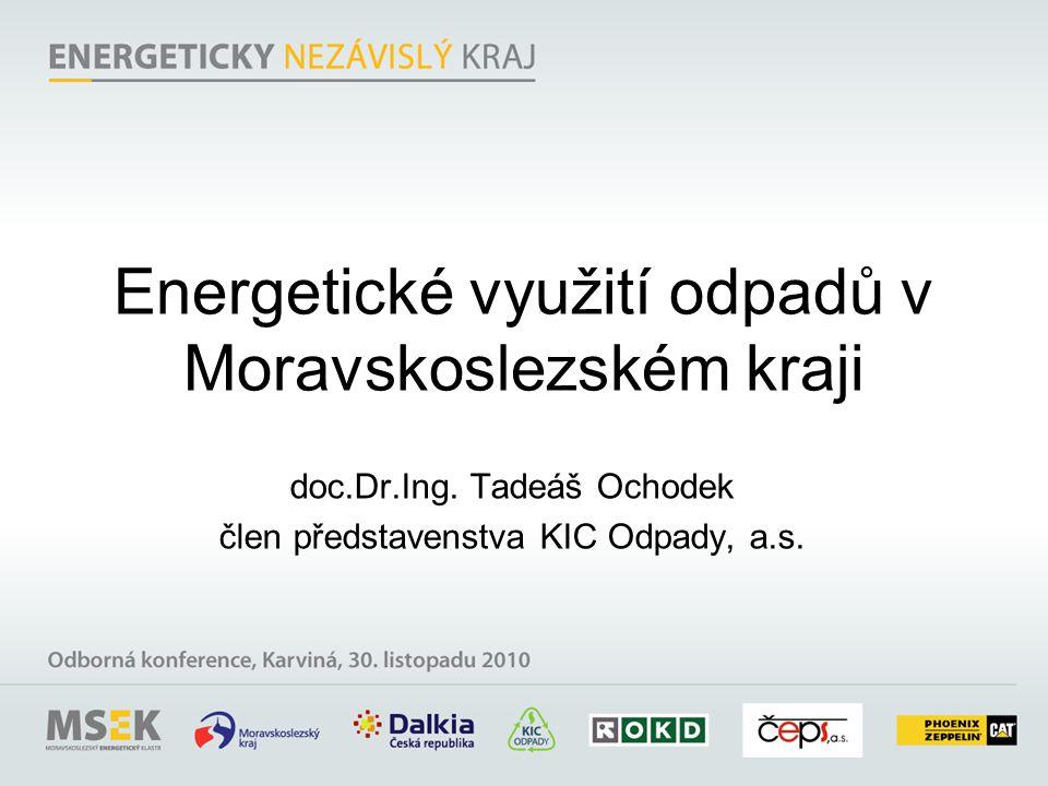 Energetické využití odpadů v Moravskoslezském kraji