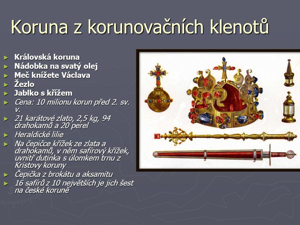 Koruna z korunovačních klenotů
