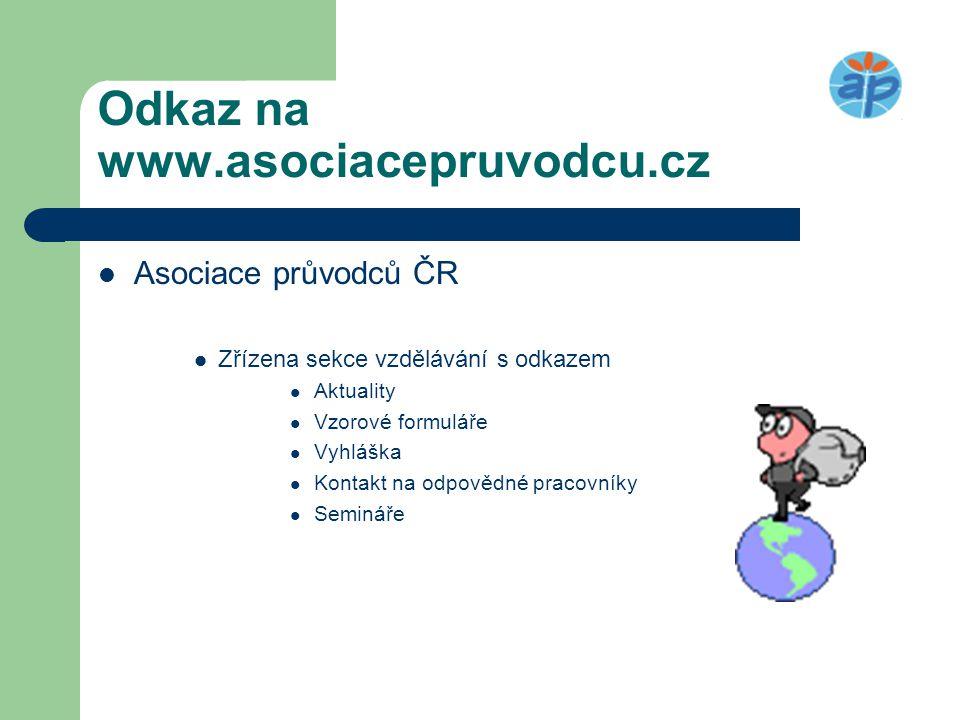 Odkaz na www.asociacepruvodcu.cz