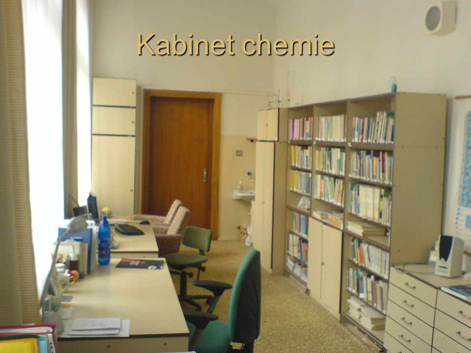 Kabinet chemie