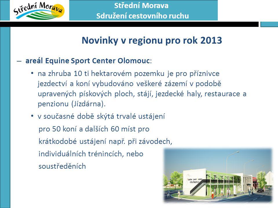 Novinky v regionu pro rok 2013