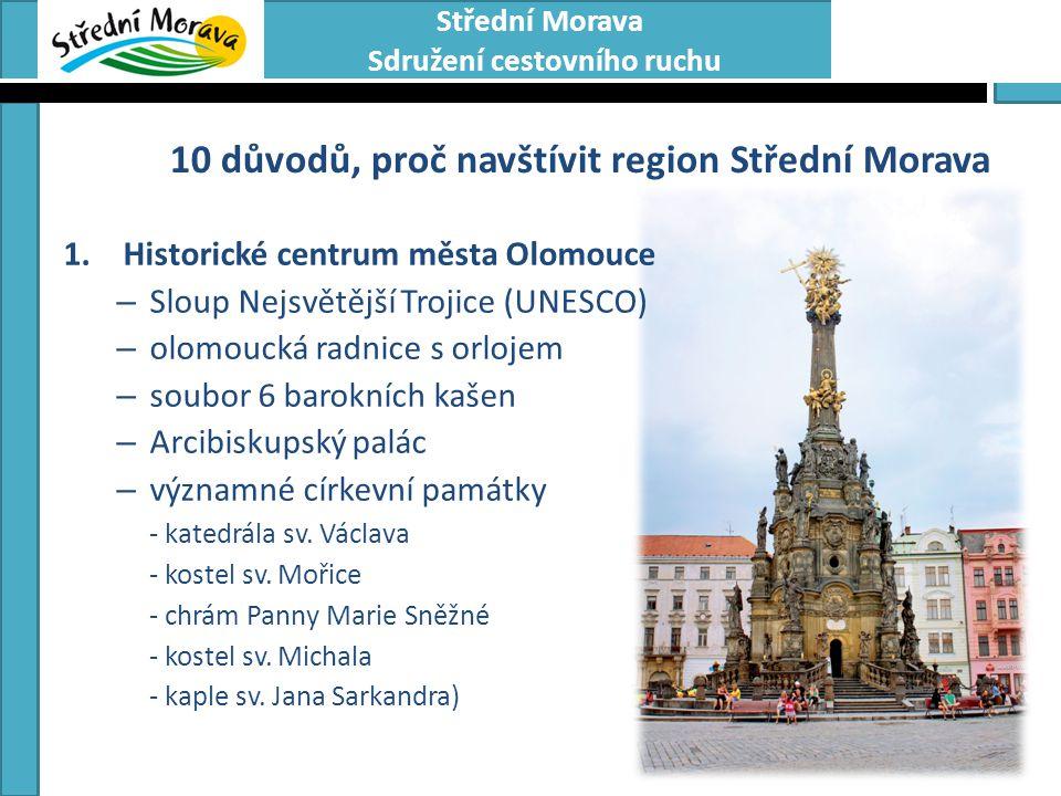 10 důvodů, proč navštívit region Střední Morava