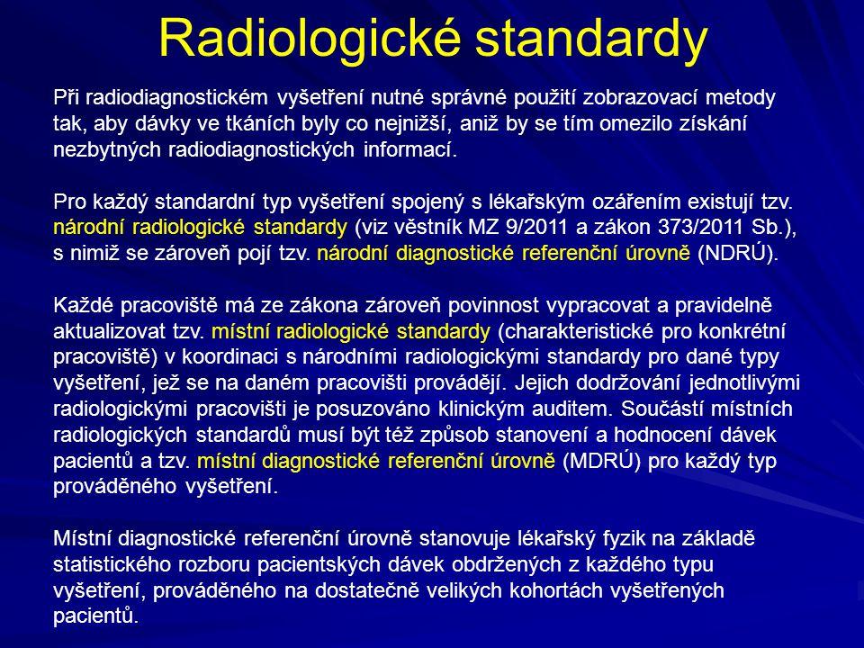 Radiologické standardy