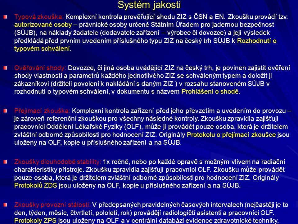 Systém jakosti