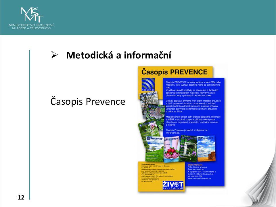 Metodická a informační