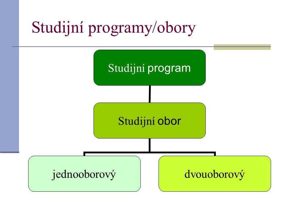 Studijní programy/obory