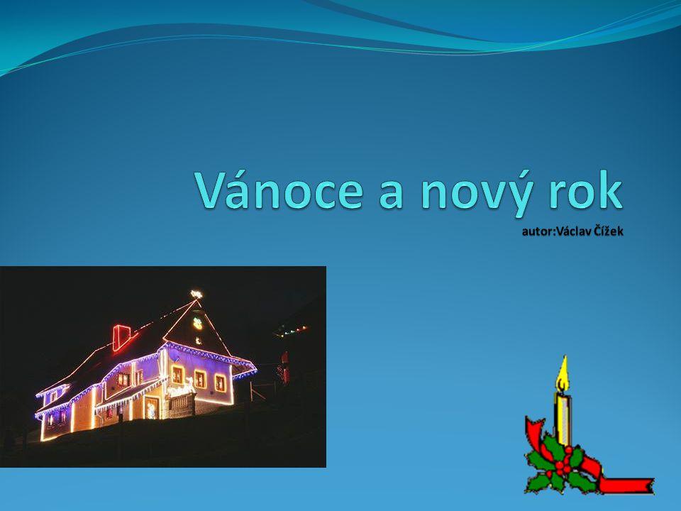 Vánoce a nový rok autor:Václav Čížek