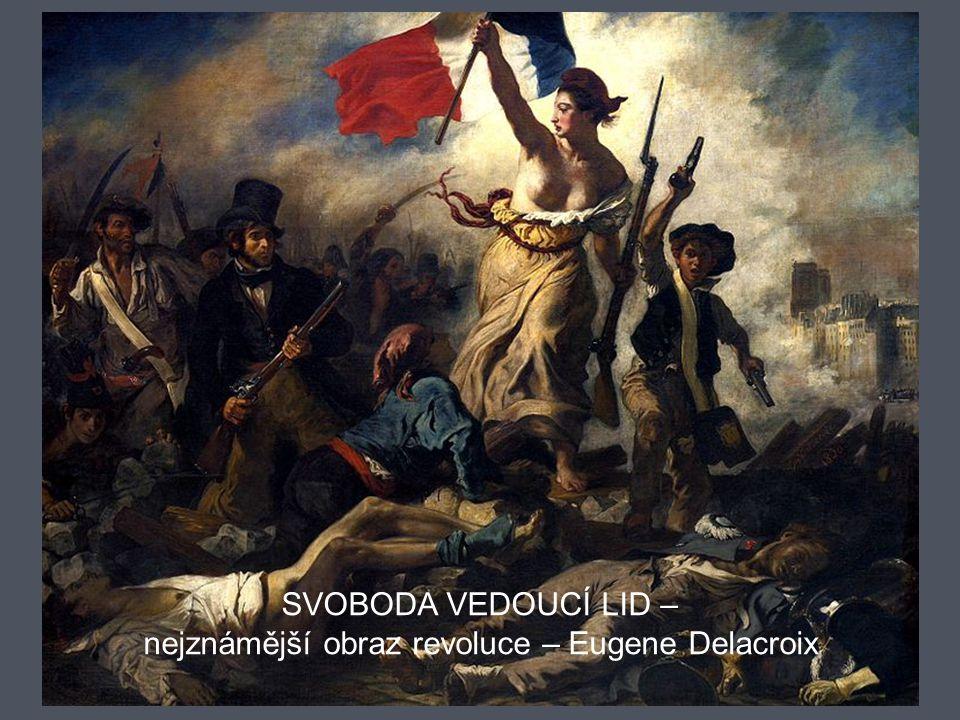 nejznámější obraz revoluce – Eugene Delacroix