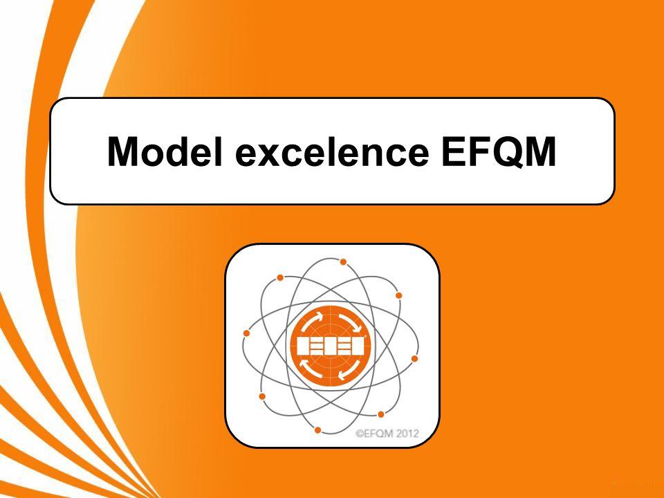 Model excelence EFQM UPOZORNĚNÍ: Některé snímky prezentace obsahují poznámky.
