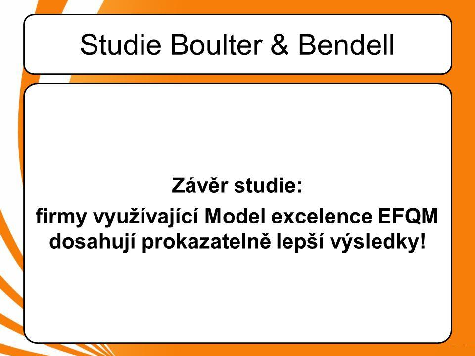 Studie Boulter & Bendell