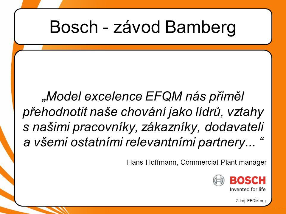 Bosch - závod Bamberg