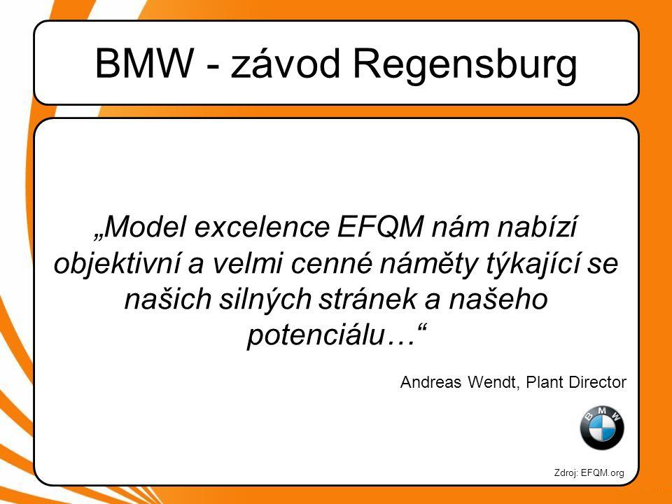 BMW - závod Regensburg