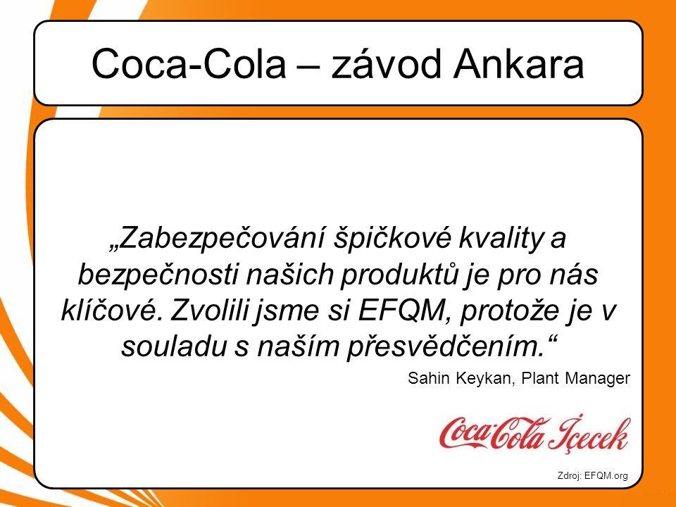 Coca-Cola – závod Ankara