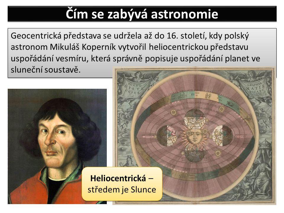 Čím se zabývá astronomie