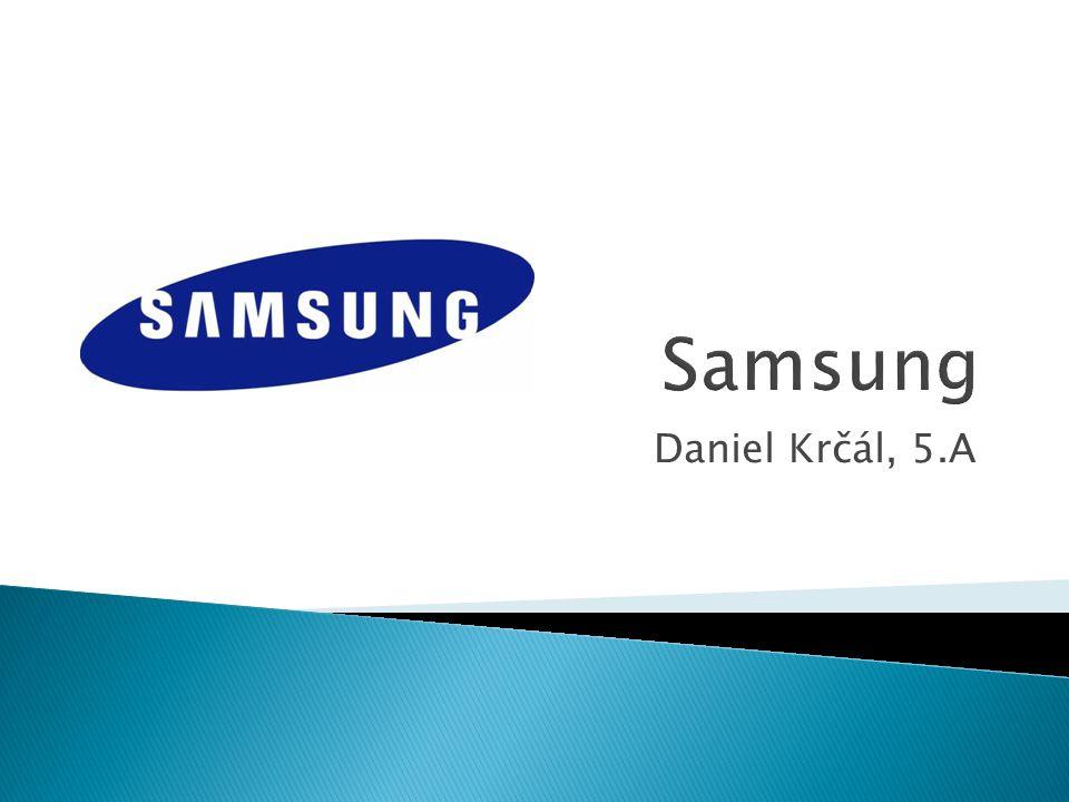 Samsung Daniel Krčál, 5.A