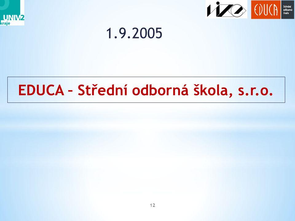 EDUCA – Střední odborná škola, s.r.o.