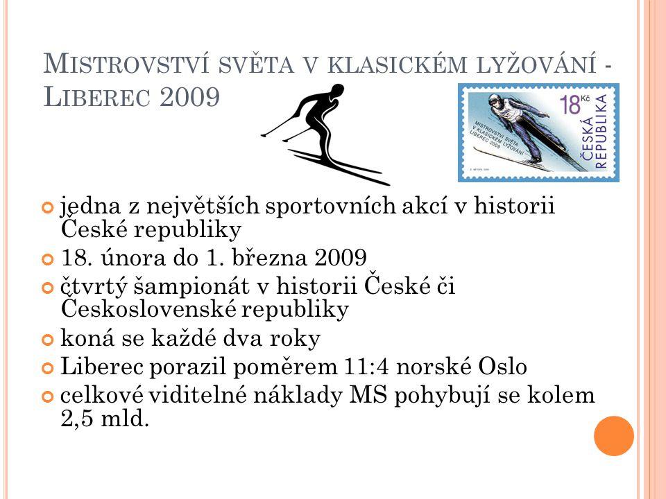 Mistrovství světa v klasickém lyžování - Liberec 2009