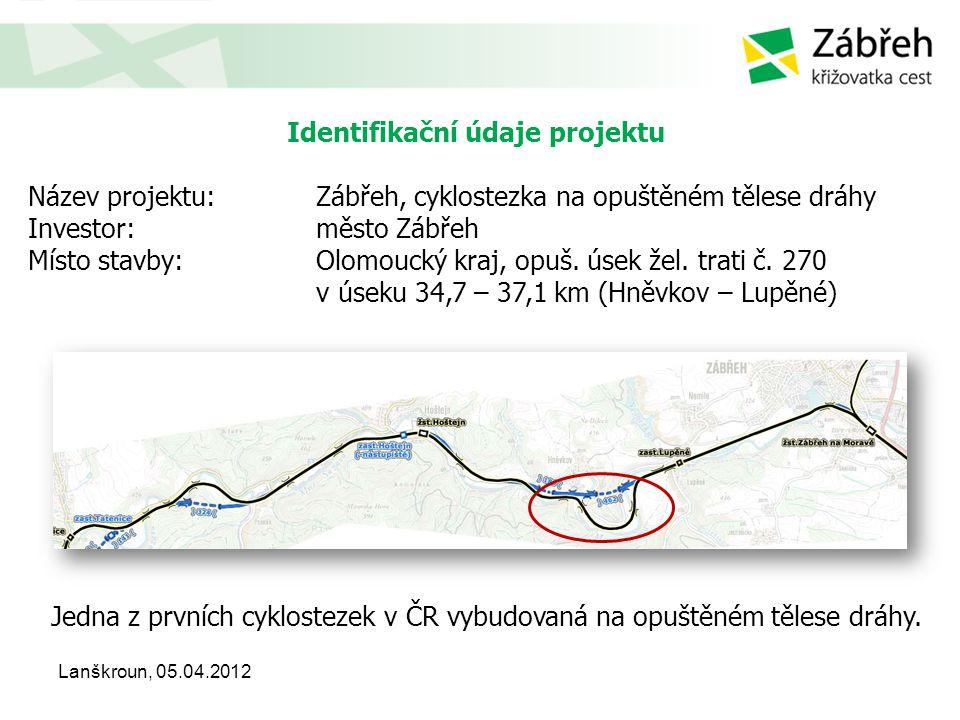 Identifikační údaje projektu