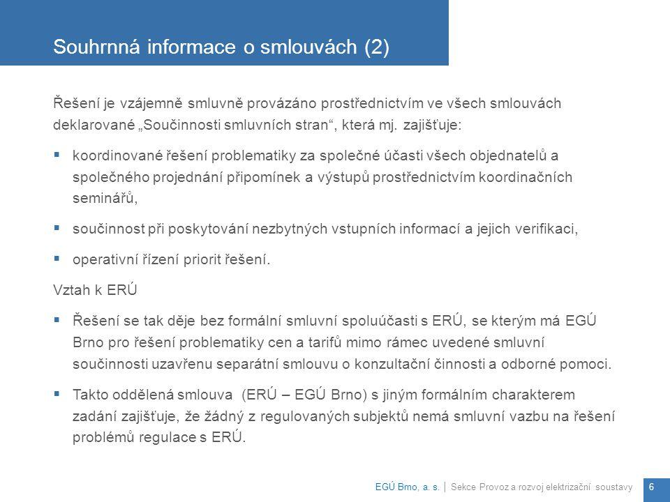 Souhrnná informace o smlouvách (2)