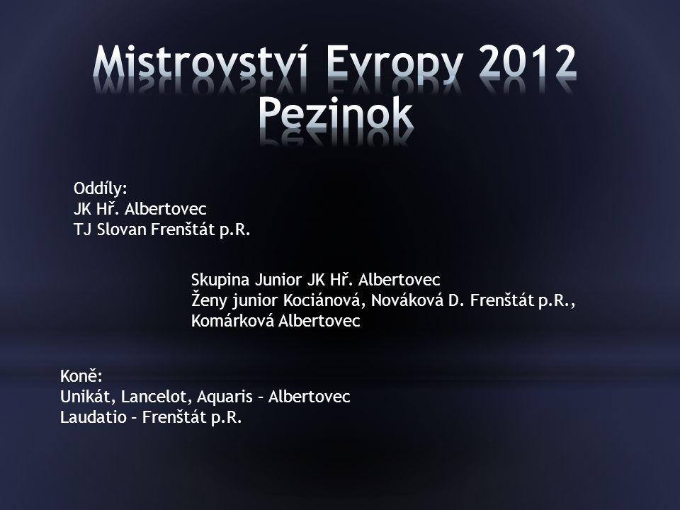 Mistrovství Evropy 2012 Pezinok