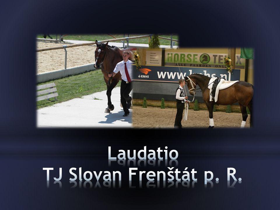 Laudatio TJ Slovan Frenštát p. R.